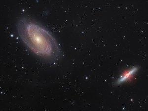 La Guerra de las Galaxias M81-M82